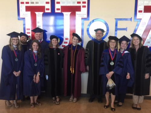 German Department Graduates and Faculty