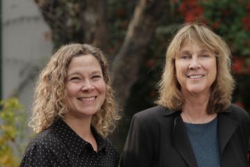 Picture showing Profs. Chantelle Warner and Barbara Kosta