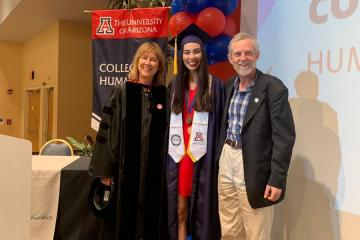 Kimberley Henderson with Dr. Kosta and Dr. Classen