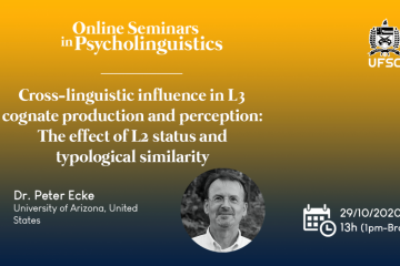 Peter Ecke on vocabulary acquisition, cognates and cross-linguistic influence