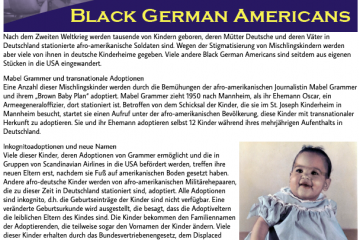 Image from the exhibit about Black German Americans