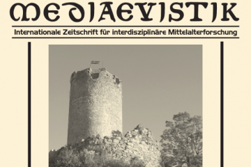 Cover of the journal Mediaevistik