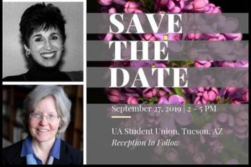 Save the date flyer with images of LILAC speakers