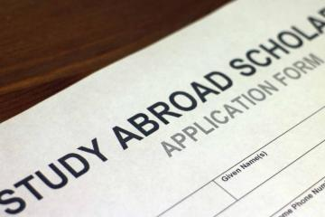 stock photo of application form